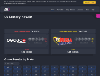 citylotto.com screenshot