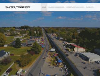 cityofbaxter.com screenshot