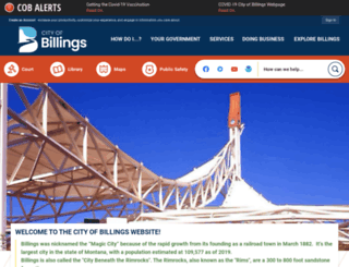 cityofbillings.org screenshot