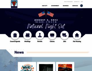 cityoflancasterca.org screenshot