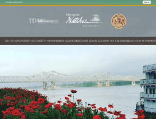 cityofnatchez.net screenshot