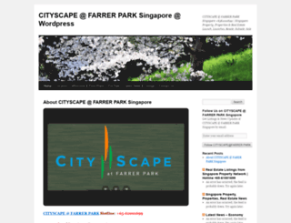 cityscapefarrerparksingapore.wordpress.com screenshot