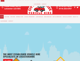 cityselfdrivehire.co.uk screenshot