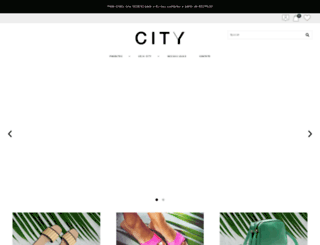 cityshoes.com.br screenshot