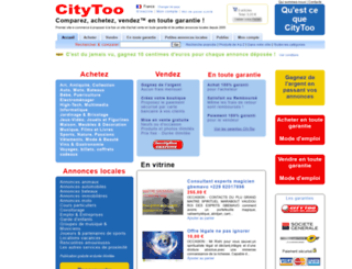 citytoo.fr screenshot