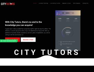 citytutors.com.ng screenshot