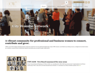 citywomen.org screenshot