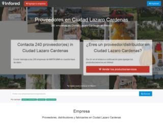 ciudad-lazaro-cardenas.infored.com.mx screenshot