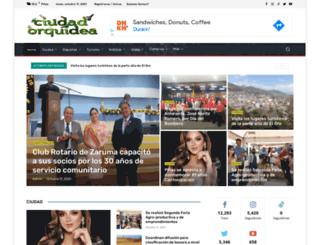 ciudadorquidea.com screenshot