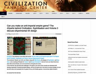 civfanatics.com screenshot