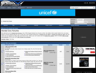 civicforums.com screenshot