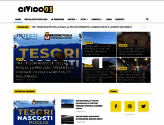 civico93.it screenshot