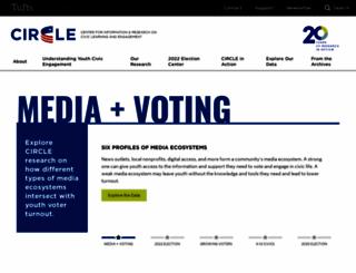 civicyouth.org screenshot