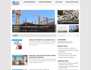 civilengineerblog.com screenshot