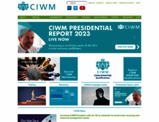 ciwm.co.uk screenshot