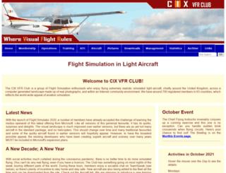 cixvfrclub.org.uk screenshot