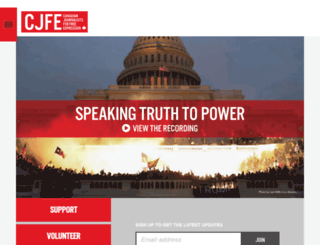 cjfe.org screenshot