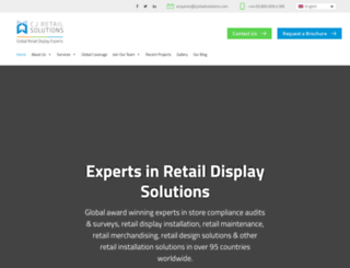 cjretailsolutions.co.uk screenshot