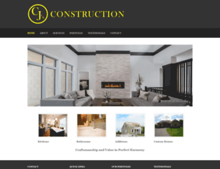 cjsconstruction.com screenshot