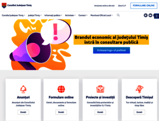 cjtimis.ro screenshot