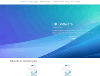 ck-software.de screenshot
