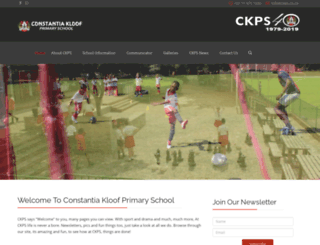 ckps.co.za screenshot