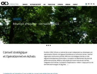 cks-consulting.com screenshot