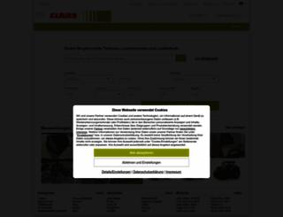 claasboerse-sued.com screenshot