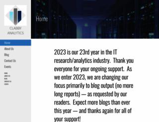 clabbyanalytics.com screenshot