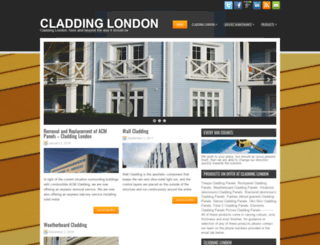 cladding.london screenshot
