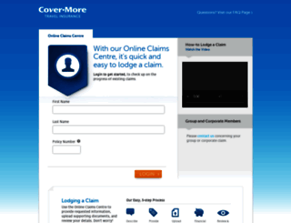 claims.covermore.com.au screenshot