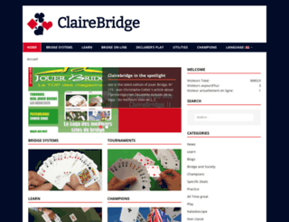 clairebridge.com screenshot