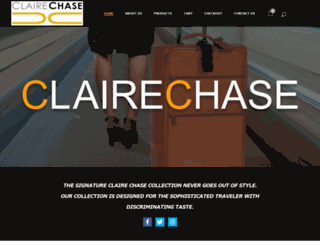 clairechase.com screenshot