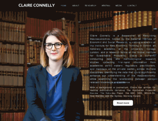 claireconnelly.com.au screenshot