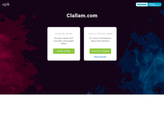 clallam.com screenshot