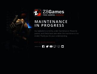 clan.z8games.com screenshot