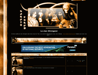 clanshinigami.foroactivo.net screenshot