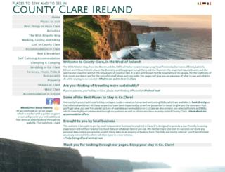 clareireland.net screenshot