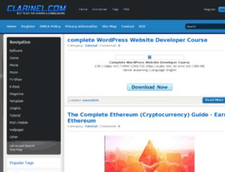 clarinel.com screenshot