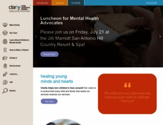 claritycgc.org screenshot