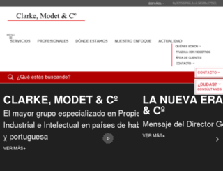 clarkemodet.com.co screenshot