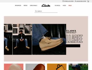 clarks.com.au screenshot
