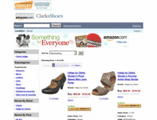 clarksindigo.shoes-payless.us screenshot