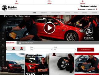 clarksonholden.com.au screenshot