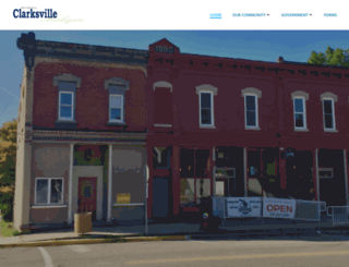 clarksvillemi.org screenshot