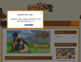 clashofclans-world.com screenshot