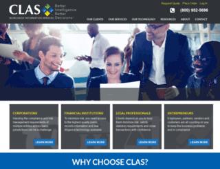 clasinfo.com screenshot