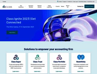 class.com.au screenshot