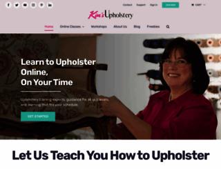 classes.kimsupholstery.com screenshot