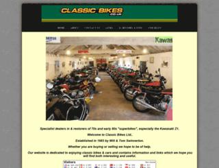 classicbikes.co.uk screenshot